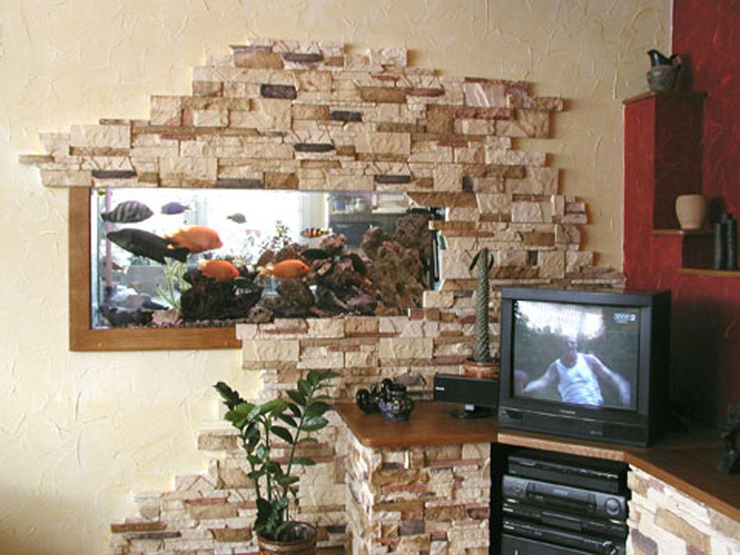 в Декоративный интерьера гипсовый отделке камень камень. камень интерьера Декоративный при.